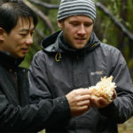 Robert Chang and Dr. Paul Thomas of the American Truffle Company with an edible find.