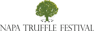 Napa truffle festival logo -- with a tree